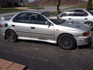 Subaru impreza WRX STI RHD