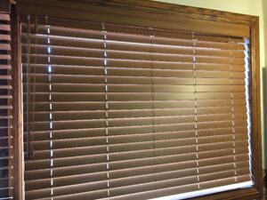 "2""  Real Wood Blinds"