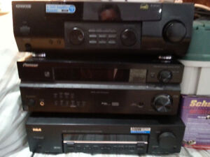 KENWOOD RCA PIONEER AMPS FOR SALE