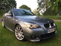 2009 (59) BMW 5 SERIES 520d AUTO LCI TOURING M SPORT BUSINESS EDITION *FULLY LOADED* SAT NAV *