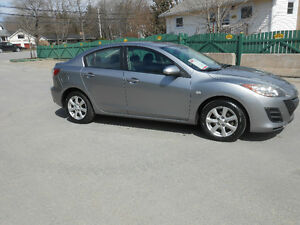 2010 MAZDA MAZDA3 4 DOOR 3 YEAR 60.OOO KILOMETERS INCLUDED