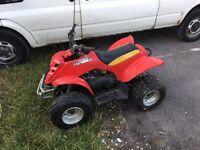 Eton viper 90cc quad