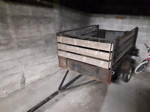 Remorque 4X8 à louer essieux simple de 2000lbs 54X86 pouces
