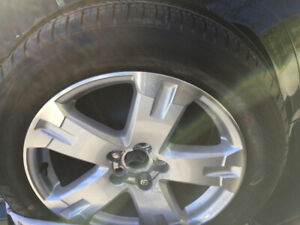 Brand new 1 tire and 1 Mag OEM Toyota Rav4 18 po