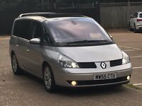 2005 RENAULT GRAND ESPACE 3.0V6 DCI INITIALE AUTOMATIC VERY LOW MILEAGE FSH PX
