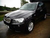 2011 BMW X3 3.0 30d SE Auto xDrive 5dr SUV Diesel Automatic