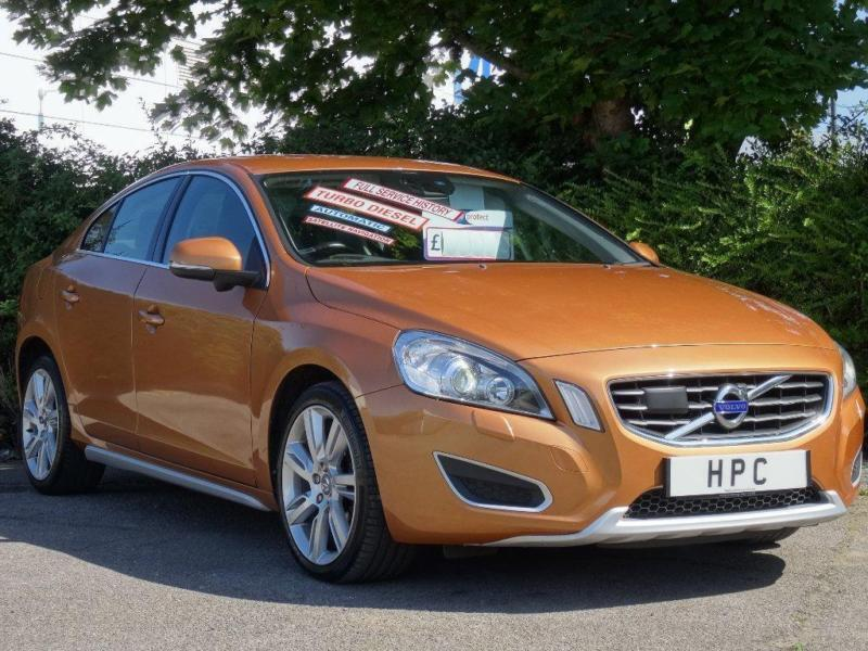 2010 volvo s60 2 0 d3 se lux geartronic 4dr in portsmouth hampshire gumtree. Black Bedroom Furniture Sets. Home Design Ideas