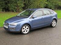 2006 Ford Focus 2.0 TDCi Zetec Climate Manual 6 Speed 5 Door Diesel Hatchback