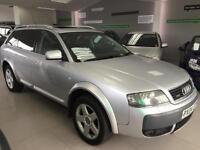 2004 Audi allroad 2.5TDI auto quattro Full Mot to drive sat nav miles 105k only