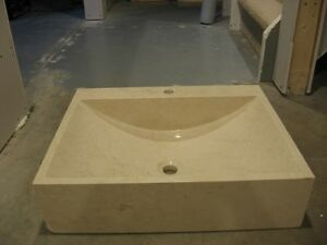 VERY nice solid stone sink Kitchener / Waterloo Kitchener Area image 1