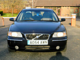 2004 54 Volvo S60 2.4 TD D5 SE 4dr AUTO WITH FULL LEATHER+HEATED SEATS