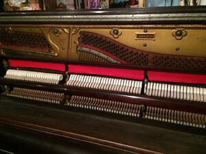 Reconditioned Upright Grand Piano