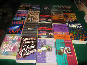 Catherine Coulter boosk $15 for the lot