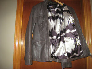 """DANIER"" GENUINE LEATHER JACKET"