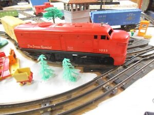 3 Model Trains and Track