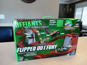 Brand NEW -4x4 Defiants Flipped Out Fury- Build it, Challenge it