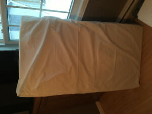 Crib mattress with waterproof cover