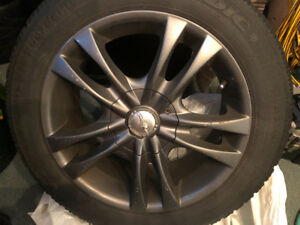 Goodyear Nordic Winter Tires and Rims for Mazda 3