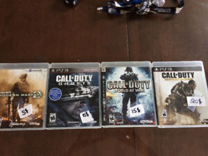 Jeux de PS3 à vendre