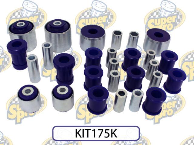 SuperPro FOR HOLDEN COMMODORE VE FRONT AND REAR ENHANCEMENT BUSH KIT KIT175K