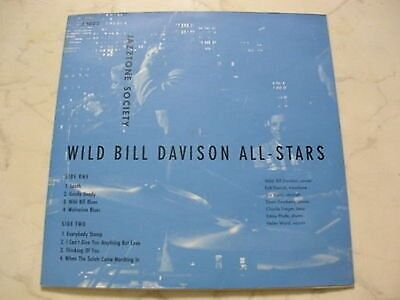"10"" WILD BILL DAVISON ALL-STARS Jazztone Society Nr.J 1022 *NM*"