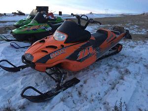 190 hp sled