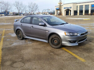 2013 Mitsubishi Lancer- Includes Summer and Winter Tires!