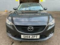 2014 Mazda6 SKYACTIV-D, 2.2 DIESEL-6 SPEED,150 BHP, *FULL MOT_WARRANTY_SERVICED*