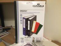 ORDOFIX File Spine Pockets 10pcs
