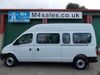 LDV Maxus 17st minibus,tacho