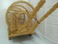 Gypsy wagon bird cage