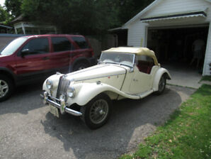 MG TF SERIES  1954  IN NICE CONDITION