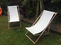 IKEA deck chairs