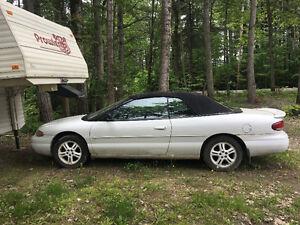 1997 Chrysler Sebring convertible