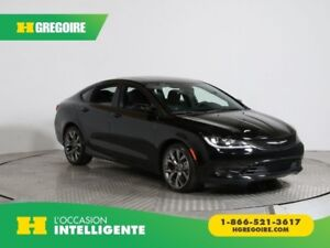 2016 Chrysler 200 S A/C GR ELECT CUIR TOIT MAGS BLUETOOTH