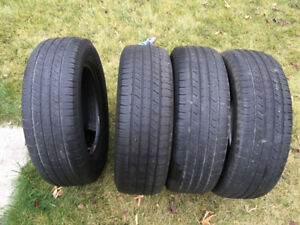 4 Michelin Latitude Tour HP - 225/65/17 -  40-50% - $40 All 4