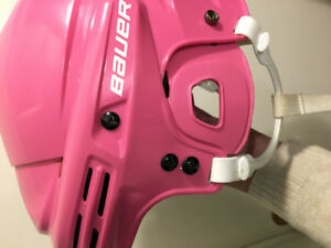 Bauer 1800 helmet with cage. Youth Medium.