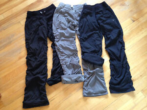 3 pairs of Ivivva pants