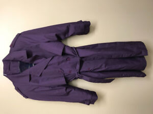 YOUNG ADULT  LADIES-MISSES TRENCH\CAPE COAT- SZ 9-10