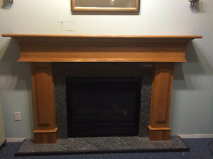 Oak Mantle and surround