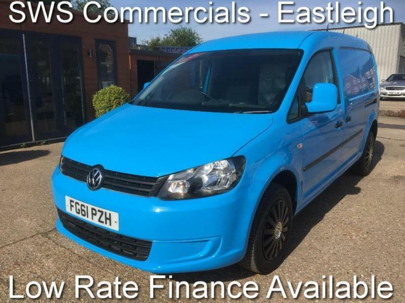 2011 (61) VW VOLKSWAGEN CADDY MAXI 1.6 TDI DIESEL BLUE EX BRITISH GAS