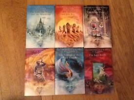 Books - Narnia boxed paperback set - as new