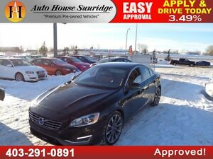 2014 Volvo S60 T6 AWD Leather Nav B.Cam Sunroof!!!