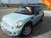 MINI HATCH COOPER 2012 Petrol Manual in Blue