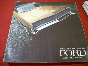 1968 Ford Galaxie 500 sales brochure