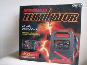 Car Battery charger  Motomaster Elimator Mobile Power Pack