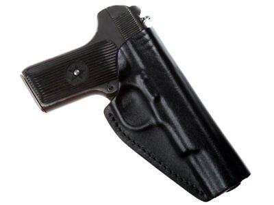 Belt Holster for Tokarev, Zastava M57, Romanian TTC, Norinco M213 leather, black for sale  Shipping to United States
