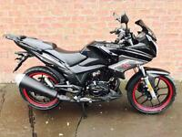 NEW Euro4 Lexmoto ZSX-F 125 learner legal own this bike for only £11.80 a week