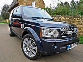 2012 LAND ROVER DISCOVERY 4 3.0 SDV6 AUTO HSE ( 255bhp ). 7 SEATS !!