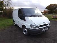 2006 FORD TRANSIT SWB low roof 1 owner direct from BT Jan 2018 MOT